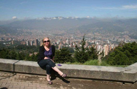 Janet in Medellin