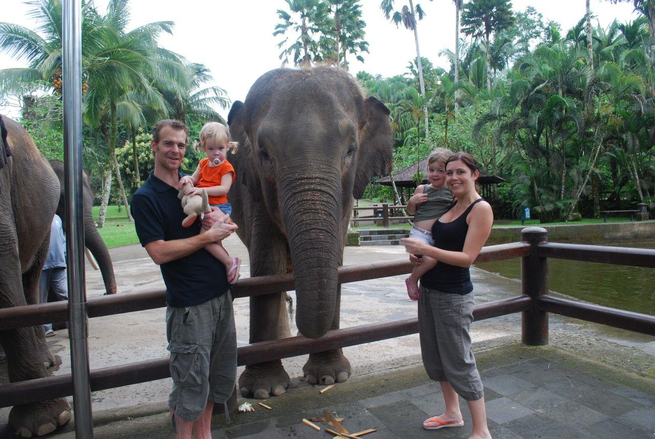 Gezin Mascha op Bali