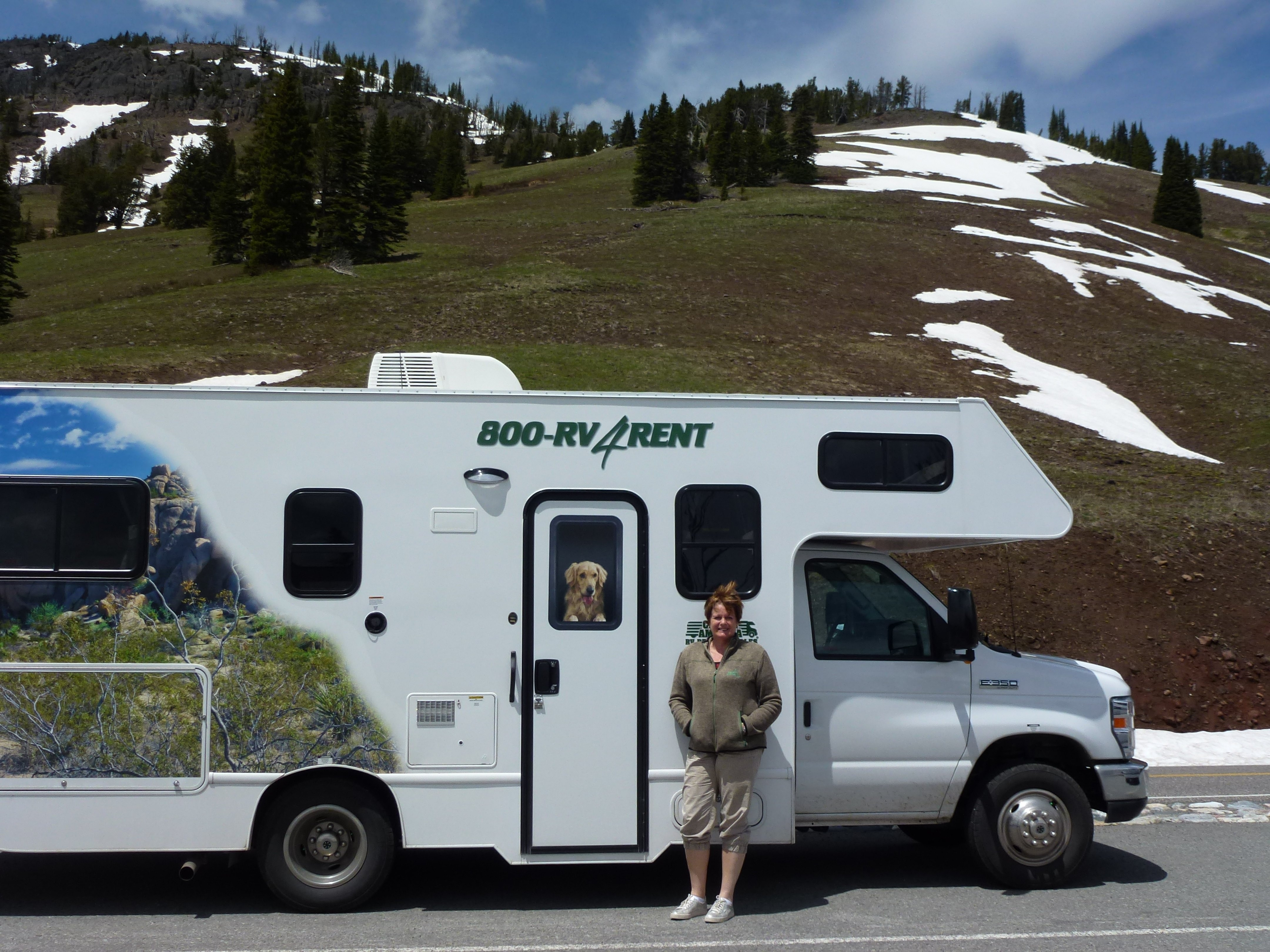 Anita met camper