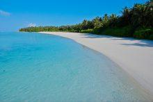 Beach Sun Island resort Malediven